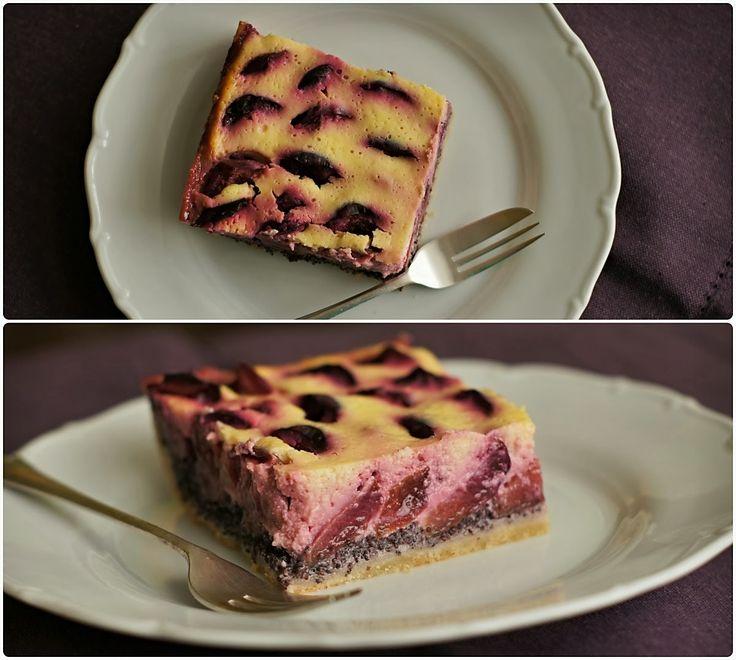 Pradobroty: Modrobílý švestkový koláč