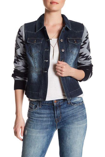 Image of Ryan Michael Sweater Sleeve Jacket