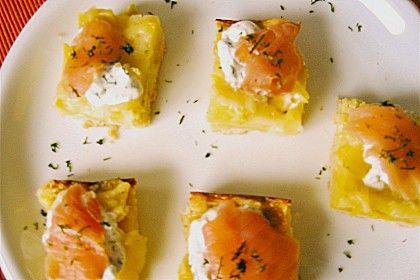 Kartoffelkuchen mit Räucherlachs (Rezept mit Bild) | Chefkoch.de