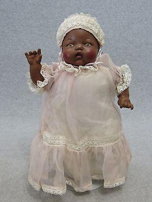 13 Quot Vintage Hard Plastic Vinyl Lorrie Doll Black African