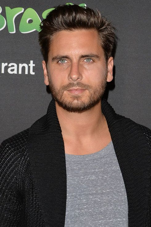 """Scott Disick + beard = chiselled perfection."" — I don't know who you are, Scott Disick, but your eyes are pretty. ^_^"