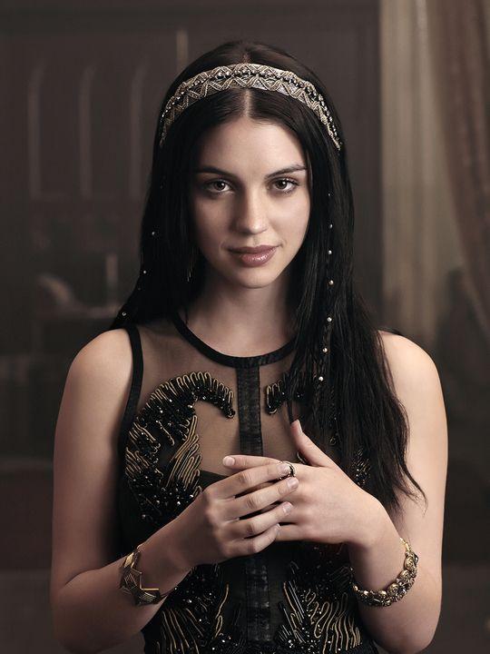 Reign (TV show) Adelaide Kane as Mary - socorro, as roupas dessa mulher, quero todas