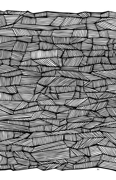 This pattern denotes block printing and perhaps a tribal flair.... #Patterns