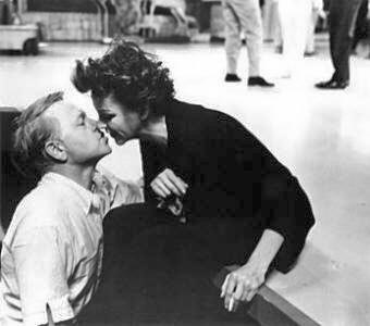"Mickey and Judy at rehearsal of ""The Judy Garland Show"" (1963)"