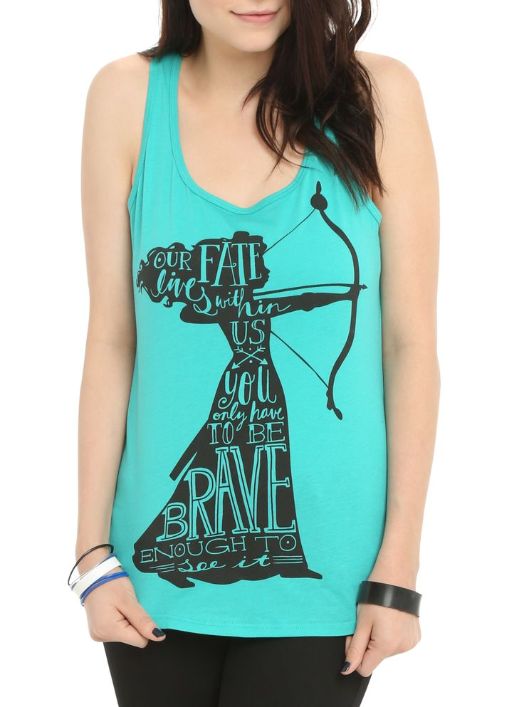 Disney Brave Merida Our Fate Girls Tank Top   Hot Topic