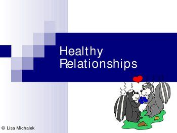 Healthy dating relationships lesson plan