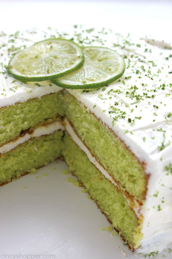 how to make key lime frosting