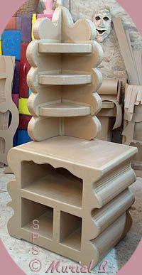 Muebles de carton: