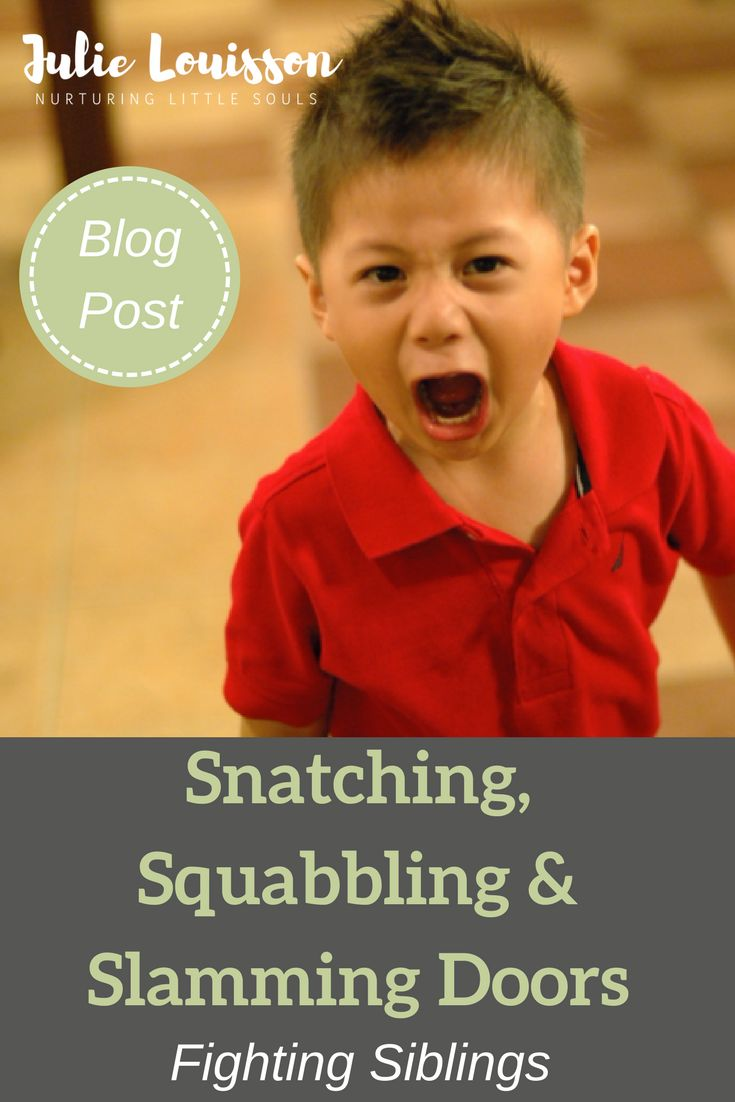 Julie Louisson writes about getting perspective on what's happening when siblings fight and how to respond as a parent. #julielouisson #soulfulparenting #spiritualparenting #parenting #siblings