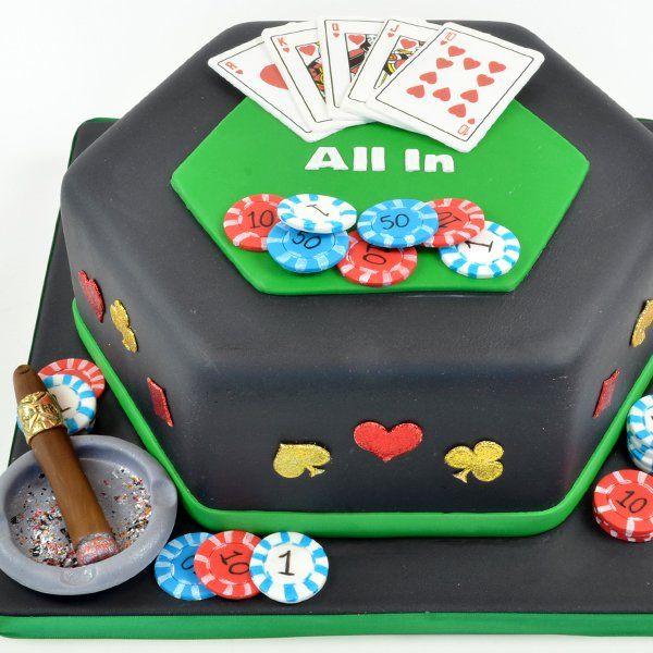 Classic Casino Cake