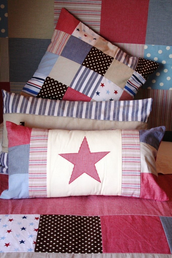 Bed linen and scatters made by Tula-tu Baby linen