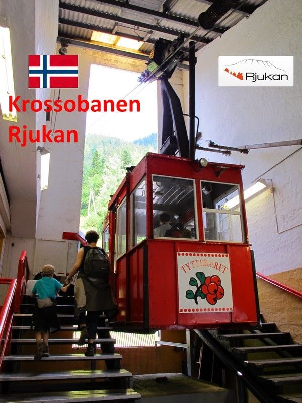 NORWAY -- wire rope travel up mountain. (designed by adolf bleichert) - Google Search
