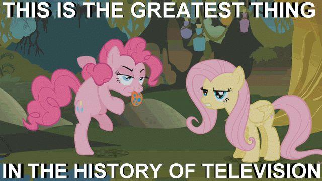 Ponies... Ponies everywhere. (gif)