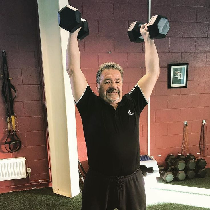 Age is just a number. Brian showing the younguns his guns  #dvcc #personaltraininggym #personaltrainer #fitness #fitspo #bedford #miltonkeynes #northampton #hitchin #stalbans #weightloss #muscletone