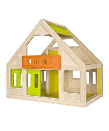 Love this...Take a look at this My First Dolls House by Plan Toys on #zulily today!