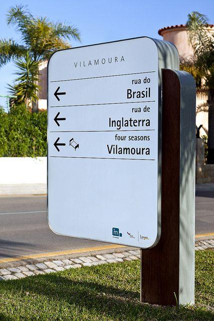 #Sinalética INFRAMOURA-SINALETICA DIRECCIONAL by #Vinilconsta