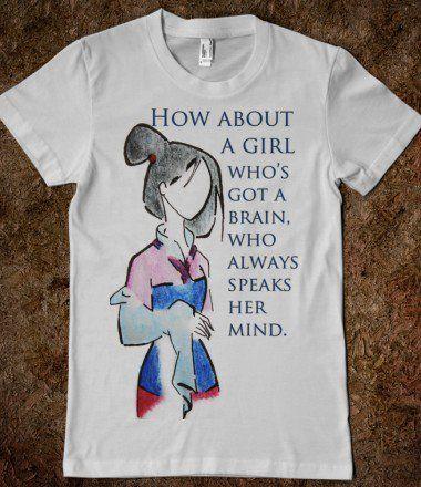 Mulan - CallieTee - Skreened T-shirts, Organic Shirts, Hoodies, Kids Tees, Baby One-Pieces and Tote Bags on Wanelo