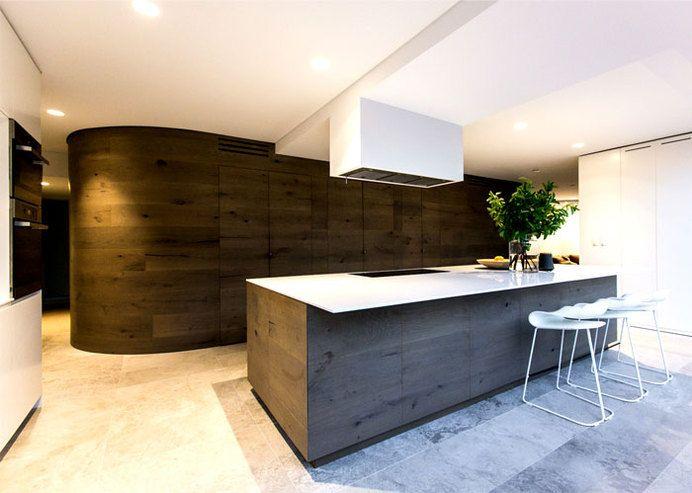 Sidney Chic Coastal Residence By C+M Studio Coastal Residence Kitchen Warm  Natural Materials U2014. Contemporary ...