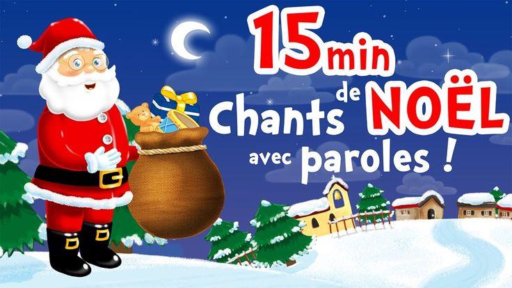 Noël Blanc - 15min de chansons de Noël en français pour petits avec paroles
