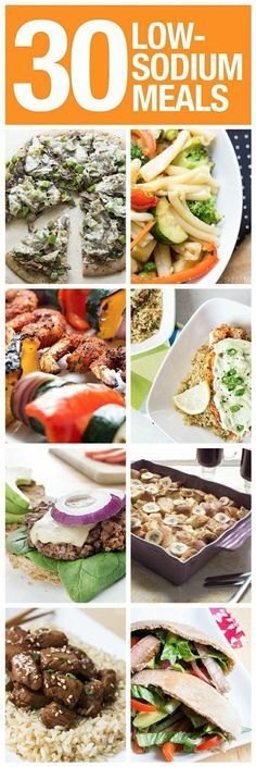 30 low-sodium meals to make cutting out salt a little less painful!
