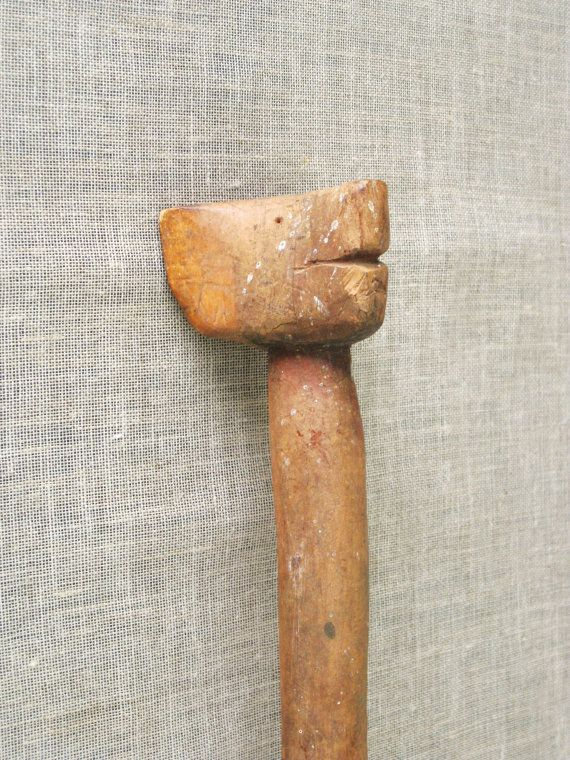 Folk Art / Cane / Walking Cane / Hand Carved Folk by wilshepherd