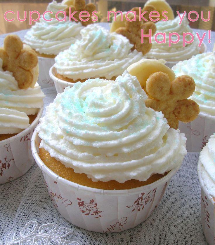 banana cream pie cupcake CUPCAKES MAKE YOU HAPPY! mutludilimler.blogspot.com