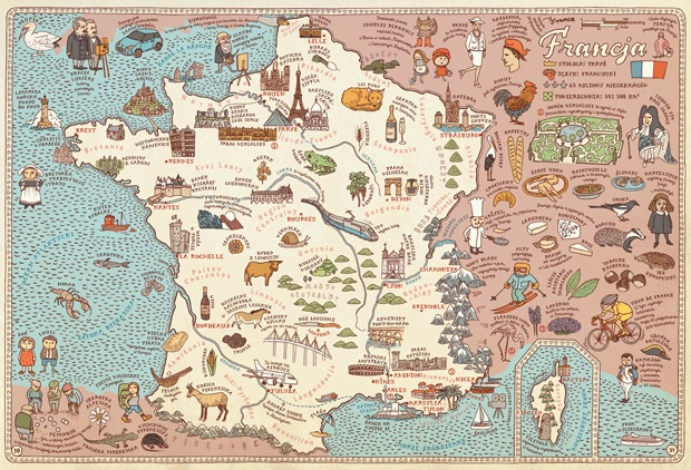 Mapy  Aleksandra i Daniel Mizielińscy