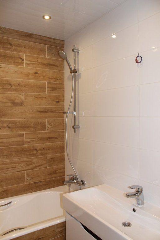 Ванна комната с плиткой под дерево от пользователя «mamasyper» на Babyblog.ru