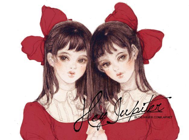 Twins by laphet on DeviantArt