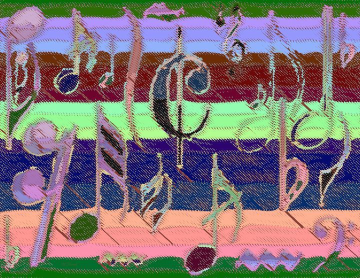 Solarized Musical Notes - Willy Decade