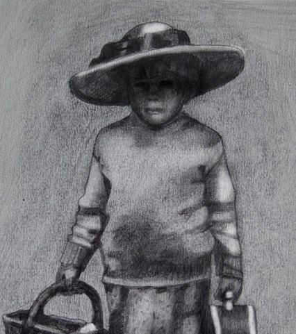 Pencil on Paper 30 x 20 cm Private Collection