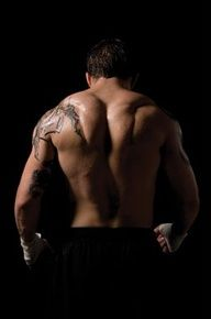 Tom Hardy ...ahhemmmmmmm back muscles and his lips...ugh wanna suck those lips right off his face :)
