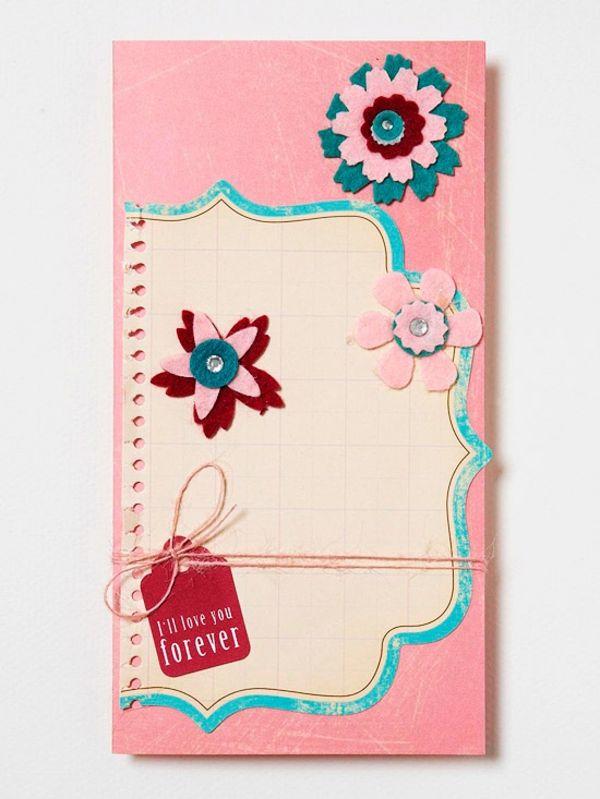 Lassen Sie Ihre Lieblingspersonen Wissen Durch Kreative, Handgemachte  Valentinstag Karten Und Geschenke, Dass Sie Sie Gern Haben. Interessante  Ideen