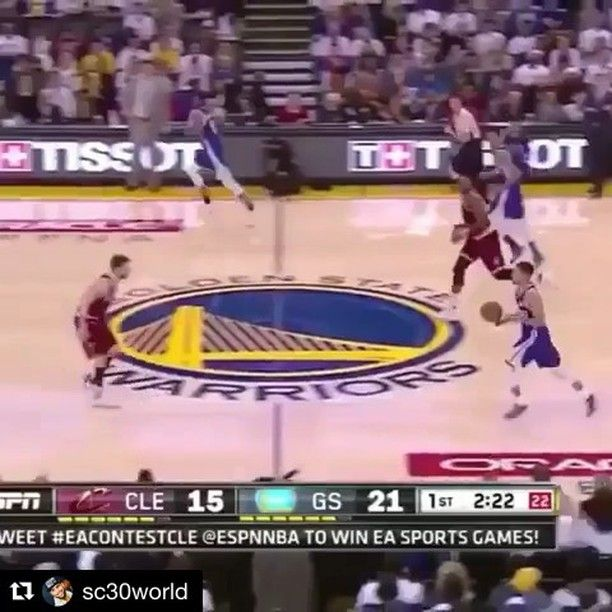 @sc30world Curry crossed Dally for the 3 (Via: @warrior.center) #sc30world #stephencurry30 #stephencurry #stephcurry #chefcurry #allstar #anklebreaker #goldenstatewarriors #goldenstate #warriors #nba #nbaontnt #nbaonespn #basketball #nothingbutnet #buzzerbeater #espn #sports #dubnation #warriorsnation #warriorsground #dubground #strengthinnumbers #letsgo #gowarriors #curry #thompson #splashbrothers Follow me @sc30world for more awesome Stephen Curry content! :)
