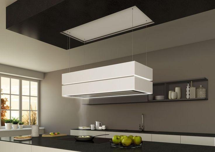 Cappa a isola / design originale / con illuminazione integrata - SKYLINE EDGE - Berbel - Video