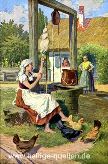 Frau Holle und der Meißner in Hessen