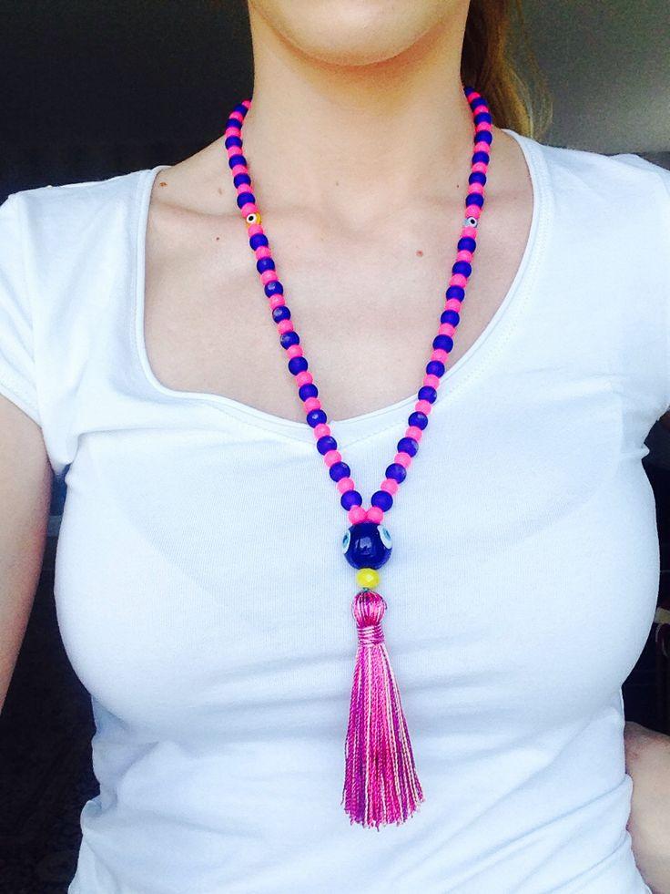 #Handmade #necklace #evil #eye