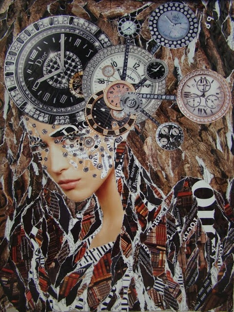 1000 images about art emilia elfe collages on pinterest mixed media design and ps - Collage ideen ...