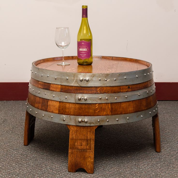 Best 25+ Wine barrel coffee table ideas on Pinterest ...