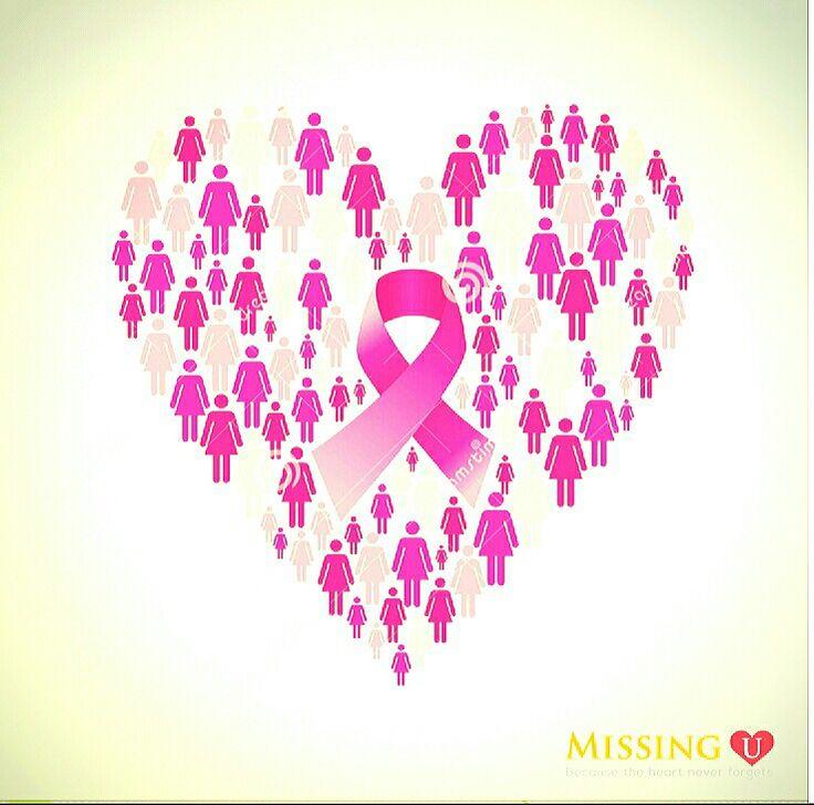 #missingu #pinkribbon #fcancer #breastcancerawareness