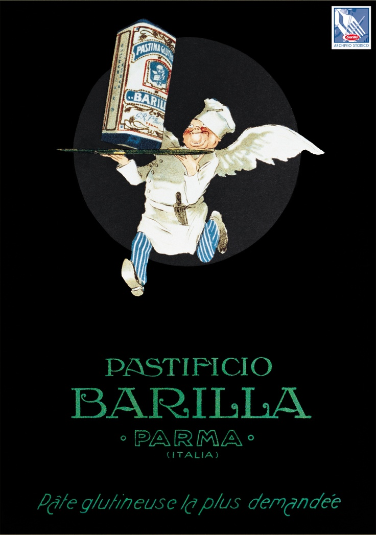 Barilla poster from 1926