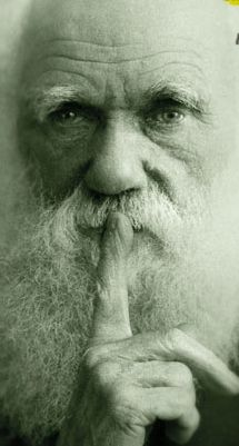 Darwin finger to mouth