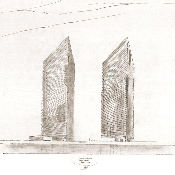 Harumi+Residential+Tower++/+Richard+Meier+&+Partners+Architects