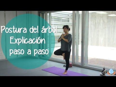 Postura del árbol – Vrksasana – Explicación paso a paso. Yogahora.com / VideoYoga.es