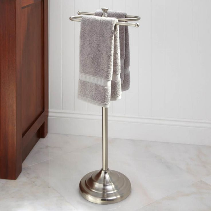 Bathroom Diy Standing Bathroom Towel Racks With Bathroom