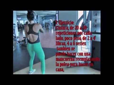 Rutina de Cintuta, Oblicuos y Lumbar, Quema de grasa, marcacion y definicione - YouTube