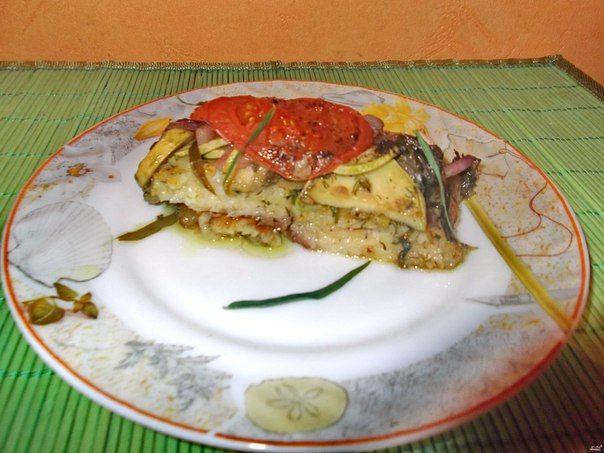 Рецепт пангасиуса в фольге