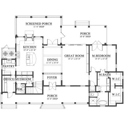 allison ramsey architects floorplan for diane 39 s