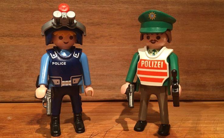 Playmobil 2 Police Figure Confederate Diver Rare Accessories Civil War Knight 1  | eBay