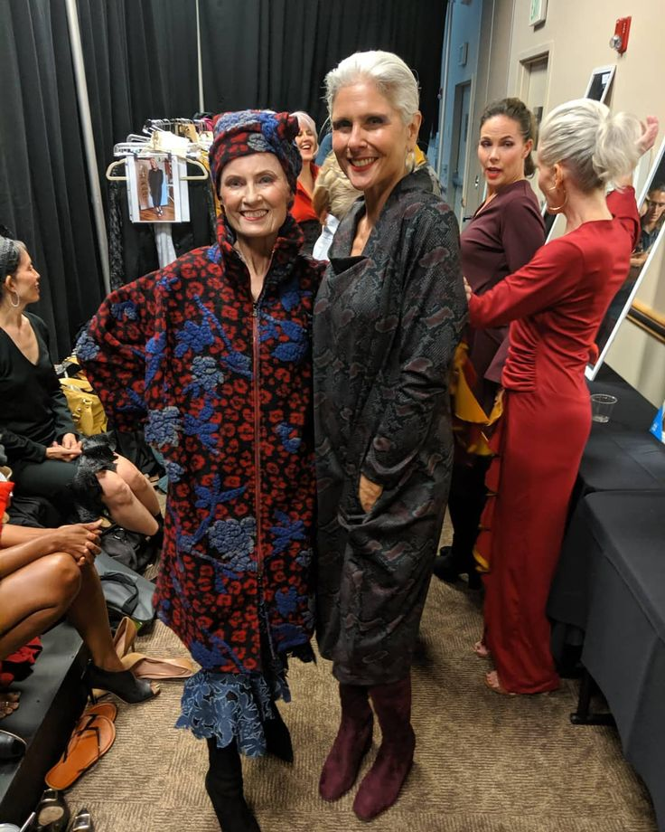 I got the lucky meeting such #goddesses as Style Crone in the #Denverfashion div…